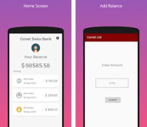 Fake Bank Account by Androbot