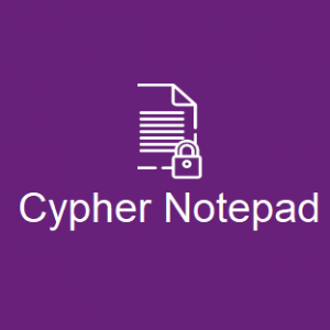 Cypher Notepad